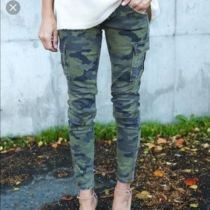 Pants - Camo Skinnies from Vici